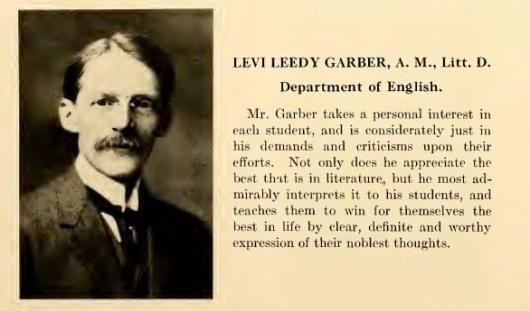 Obit LL Garber.